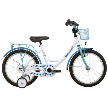 "Vélo Enfant VERMONT GIRLY 16"" Bleu/Blanc 2019"